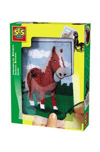Broderiset Häst