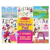 Reusable Sticker Pad Princess