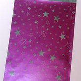 Gift bag Lilac with Stars