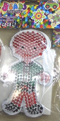 Beads board with beads Boy