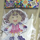 Beads board with beads Girl