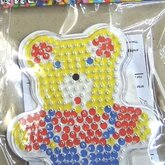 Beads board with beads Bear