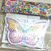 Beads board with beads Butterfly