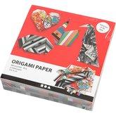 Origamipapper Grafitti stl. 15x15 cm/400 st