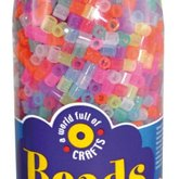 Beads in bottle  3500 pcs  glitter