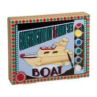 Construction kit & Paint set Boat