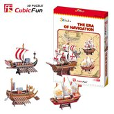 Byggsats Forntida Skepp 4 olika fartyg