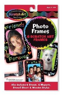 Photo Frames Scratch Art