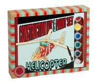 Construction kit & Paint set Helicopter