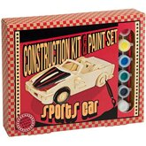 Construction kit & Paint set Sports Car