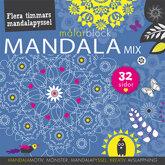 Mandalamix - målarblock Blå