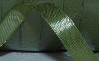 Satinband Militärgrön 10 mm