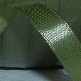 Satin Ribbons Military Green 10 mm