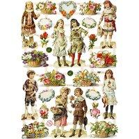 Bokmärken Barn och blommor 7368