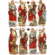 Bookmarks Santa Claus 7379