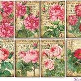 Paper set Mini/Roses