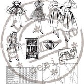 Clear Stamps Fabulous Fifties/Fashion