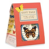Natural History Butterflies Gift Tags