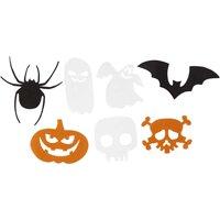 Halloween shapes 50 mix