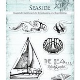 Clear stamps  Seaside Sailingship