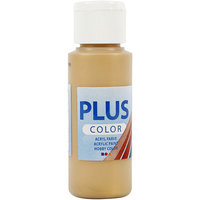 Plus Color Acrylic Paint/Gold 60 ml