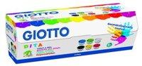 Fingerfärg Giotto 6x100 ml