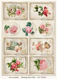 Paper Vintage Time 005/Heart Painted