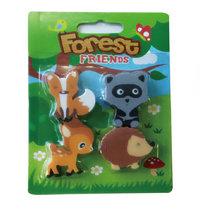 Eraser Forest Animals