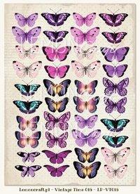 Designark Vintage Time 016/Violet Silence