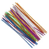 Pipe Cleaners Metalic 30 cm 40 pcs