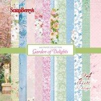 Pappersset Garden of Delights