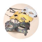 Maskeradmask Glitter