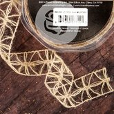 Weave Trim Flower