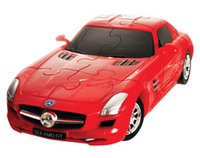 3d puzzle Mercedes Red