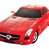 3d pussel Mercedes Röd