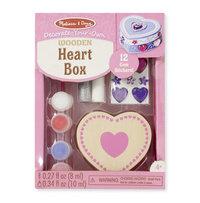 Heart Box Paint & Decorate