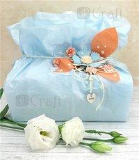 Silkespapper 10 ark Pastellfärger