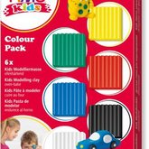 Fimo Kids lera 6-pack Basic