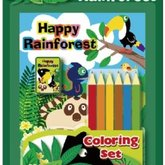 Coloring Set Happy Rainforest