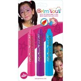 Face Paint Crayons 3 pcs