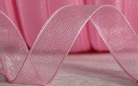 Organza Ribbon Baby Pink 20 mm