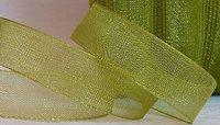 Organza Ribbon Green 20 mm