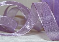 Organza Ribbon Lilac 20 mm