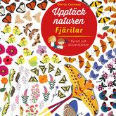 Upptäck naturen/Fjärilar - Pyssel och klistermärken