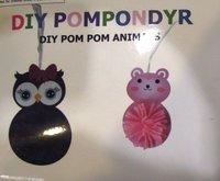 DIY Pom Pom Djur