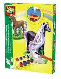 Gjuta och måla Häst
