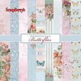 Pappersset Butterflies