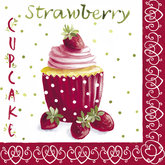 Servett Strawberry Cupcakes