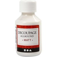 Decoupagelim & lack Matt 100 ml