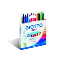 Wax Crayons Giotto 12 pcs